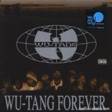 Discos de vinilo: LP WU-TANG CLAN - WU-TANG FOREVER 4LP. Lote 139700902