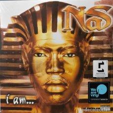 Discos de vinilo: LP NAS - I AM... 2LP. Lote 139703198
