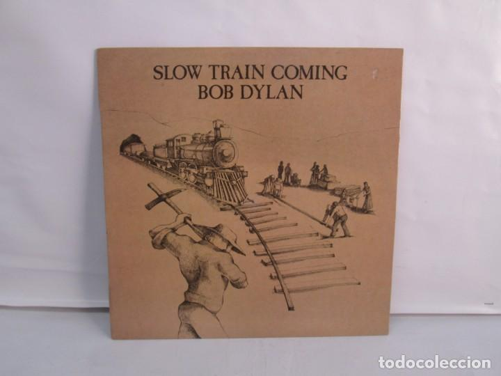 SLOW TRAIN COMING. BOB DYLAN. LP VINILO. CBS RECORDS. 1979. VER FOTOGRAFIAS ADJUNTAS (Música - Discos de Vinilo - EPs - Rock & Roll)