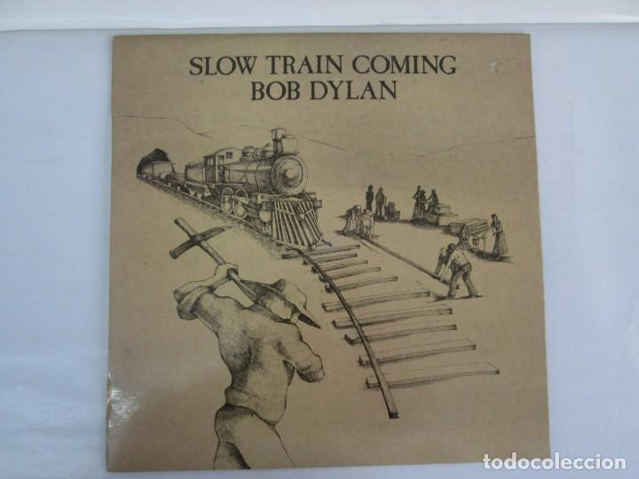 Discos de vinilo: SLOW TRAIN COMING. BOB DYLAN. LP VINILO. CBS RECORDS. 1979. VER FOTOGRAFIAS ADJUNTAS - Foto 2 - 139709218