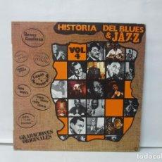 Discos de vinilo: HISTORIA DEL BLUES & JAZZ. LP VINILO. DIAL DISCOS 1981. VER FOTOGRAFIAS ADJUNTAS. Lote 139710074