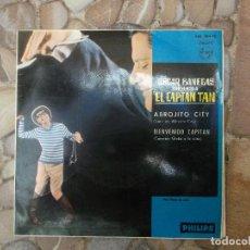 Discos de vinilo: EL CAPITAN TAN, OSCAR BANEGAS PHILIPS EP MONO 1965 436 384 PE. Lote 139712190