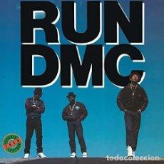 Discos de vinilo: LP RUN-DMC - TOUGHER THAN LEATHER . Lote 139717958