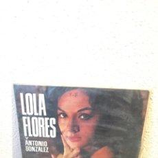 Discos de vinilo: LOLA FLORES Y ANTONIO GONZÁLEZ- BELTER. Lote 139718272