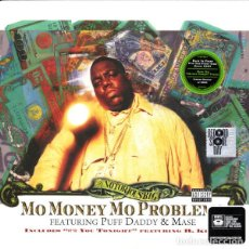 Disques de vinyle: 12'' THE NOTORIOUS B.I.G.* FEATURING PUFF DADDY & MASE - MO MONEY, MO PROBLEMS . Lote 139719146