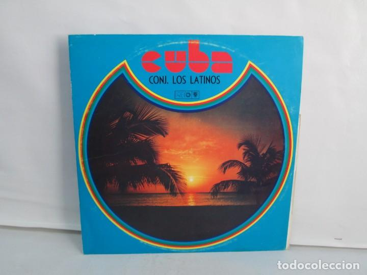 CUBA. CONJUNTO LOS LATINOS. LP VINILO. AREITO. VER FOTOGRAFIAS ADJUNTAS (Música - Discos - LP Vinilo - Étnicas y Músicas del Mundo)