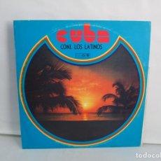 Discos de vinilo: CUBA. CONJUNTO LOS LATINOS. LP VINILO. AREITO. VER FOTOGRAFIAS ADJUNTAS. Lote 139728254