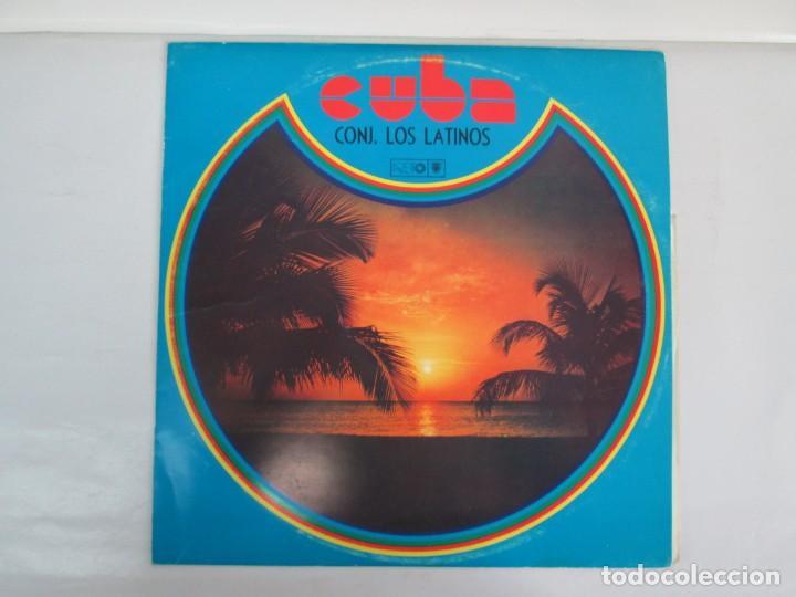 Discos de vinilo: CUBA. CONJUNTO LOS LATINOS. LP VINILO. AREITO. VER FOTOGRAFIAS ADJUNTAS - Foto 2 - 139728254