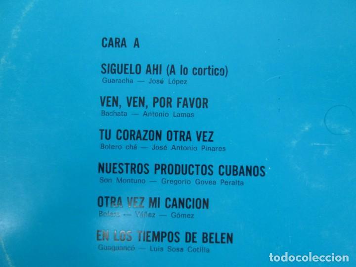 Discos de vinilo: CUBA. CONJUNTO LOS LATINOS. LP VINILO. AREITO. VER FOTOGRAFIAS ADJUNTAS - Foto 3 - 139728254