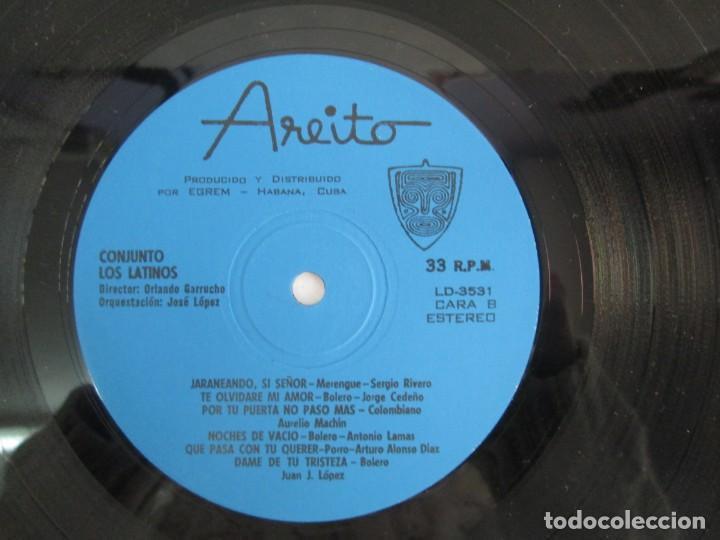 Discos de vinilo: CUBA. CONJUNTO LOS LATINOS. LP VINILO. AREITO. VER FOTOGRAFIAS ADJUNTAS - Foto 8 - 139728254