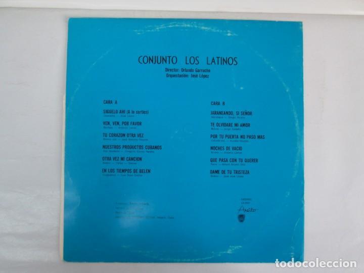 Discos de vinilo: CUBA. CONJUNTO LOS LATINOS. LP VINILO. AREITO. VER FOTOGRAFIAS ADJUNTAS - Foto 9 - 139728254