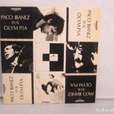 Discos de vinilo: PACO IBAÑEZ EN EL OLYMPIA. LOS UNOS POR LOS OTROS. LP VINILO. POLYDOR. 1972. VER FOTOGRAFIAS ADJUNTA. Lote 139732202