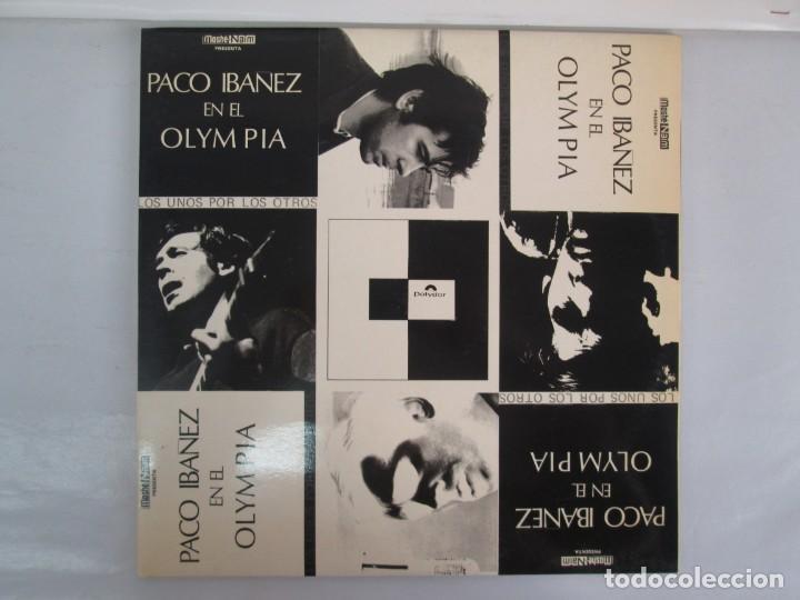 Discos de vinilo: PACO IBAÑEZ EN EL OLYMPIA. LOS UNOS POR LOS OTROS. LP VINILO. POLYDOR. 1972. VER FOTOGRAFIAS ADJUNTA - Foto 2 - 139732202