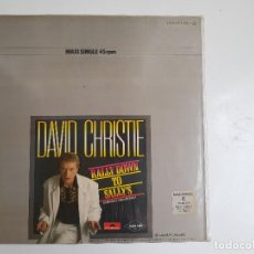 Discos de vinilo: DAVID CHRISTIE - RALLY DOWN TO SALLY'S (VINILO). Lote 139732810