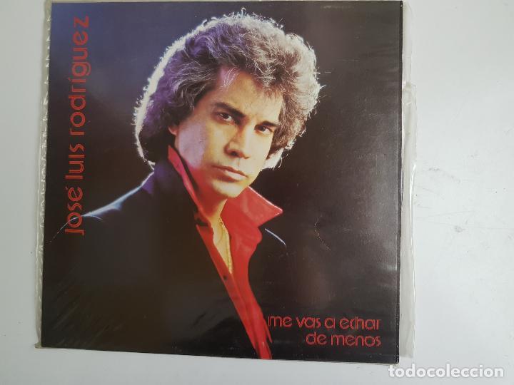 JOSÉ LUIS RODRIGUEZ - ME VAS A ECHAR DE MENOS (VINILO) (Música - Discos - LP Vinilo - Solistas Españoles de los 70 a la actualidad)