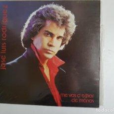 Discos de vinilo: JOSÉ LUIS RODRIGUEZ - ME VAS A ECHAR DE MENOS (VINILO). Lote 139733742