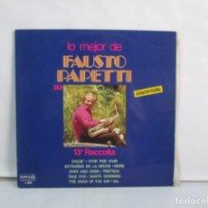 Discos de vinilo: LO MEJOR DE FAUSTO PAPETTI. 13ª RACCOLTA. LP VINILO. OURIUM. 1978. VER FOTOGRAFIAS ADJUNTAS. Lote 139744218
