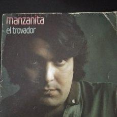 Discos de vinilo: DISCO VINILO SINGLES MANZANITA. Lote 139740922