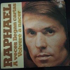 Discos de vinilo: DISCO VINILO SINGLES RAPHAEL. Lote 139741522