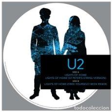 Discos de vinilo: MAXI-SINGLE U2 - LIGHTS OF HOME / VINILO PICTURE DISC / ED. OFICIAL RSD 2018 / NUEVO. Lote 139757182