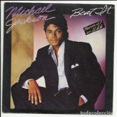 Discos de vinilo: MICHAEL JACKSON ?– BEAT IT SINGLE 1983 PROMO: EPIC ?– EPC A-3184. Lote 139758666
