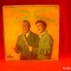 Discos de vinilo: CHUBBY CHECKER-BOBBY RYDELL -- JUNTOS / LLEVANDO MI NENA A CASA / NUESTROS EXITOS, RCA, 1963.. Lote 139759146