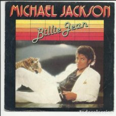 Discos de vinilo: MICHAEL JACKSON ?– BILLIE JEAN SINGLE 1983 EPIC ?– EPC A-3084. Lote 139760030