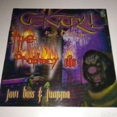 Discos de vinilo: CENTRAL FEAT. MC RAGE - THE PROPHECY 666. Lote 139763176
