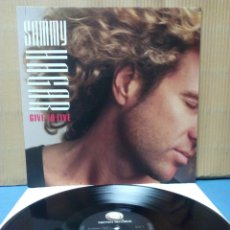 Discos de vinilo: SAMMY HAGAR - GIVE TO LIVE 1987 GER. Lote 139775370