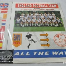 Discos de vinilo: LP . DISCO VINILO . ENGLAND FOOTBALL TEAM . . Lote 139791186