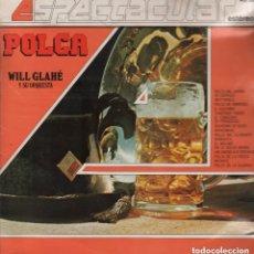 Discos de vinilo - WILL GLAHE Y SU ORQUESTA - POLCA- LP TELEFUNKEN DE 1987, RF-6760 - 139791938