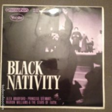 Discos de vinilo: ALEX BRADFORD,PRINCESS STEWART,MARION WILLIAMS & THE STARS OF FAITH: BLACK NATIVITY DISCOPHON 1963. Lote 139817786