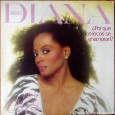 Discos de vinilo: DIANA ROSS : WHY DO FOOLS FALL IN LOVE [ESP 1981] LP/GAT. Lote 139821186