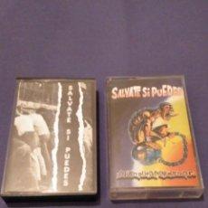 Discos de vinilo: LOTE SALVATE SI PUEDES 1993-1997 JOYA DEL PUNK ROCK. Lote 139825590