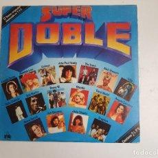Discos de vinilo: SUPER DOBLE - 17 TEMAS ORIGINALES ANUNCIADO EN T.V.E (2 VINILOS). Lote 139828790