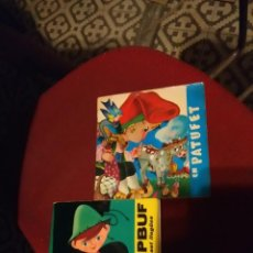 Discos de vinilo: 2 DISCOS DE CONTES : EN PATUFET + EL NAPBUF I LES BOTES DE SET LLEGUES . Lote 139828950