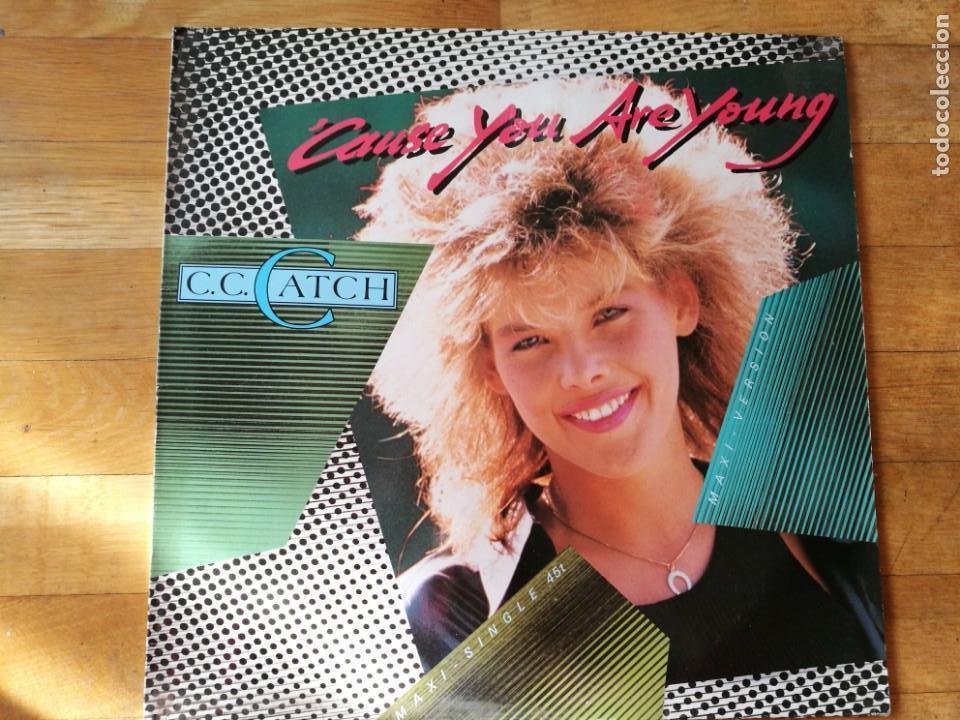 CC. CATCH AÑO 1986 (Música - Discos de Vinilo - Maxi Singles - Pop - Rock - New Wave Extranjero de los 80)