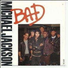 Discos de vinilo: MICHAEL JACKSON – BAD 1984 EPIC – EPC 651100 7 . Lote 139834014