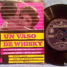 Discos de vinilo: CONJUNTO JOSE SOLA - UN VASO DE WHISKY + 3 - RARO EP COLUMBIA ECGE 70965 AÑO 1959 CONSERVA TRICENTRO. Lote 139858706
