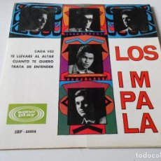 Discos de vinilo: IMPALA, EP, CADA VEZ + 3, AÑO 1966. Lote 139871682