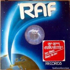 Discos de vinilo: BO KOOL / FUNKMASTERS : LOVE MONEY [ESP 1981] 12'. Lote 139880442