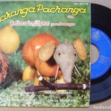 Discos de vinilo: BELISARIO LOPEZ - MOLIENDO CAFE - EP 1961 - HISPAVOX. Lote 139884814
