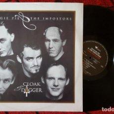 Discos de vinilo: MAGGIE PIE & THE IMPOSTORS CLOAK & DAGGER VINILO ORIGINAL 1991 UK LP. Lote 139892174