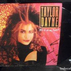 Discos de vinilo: TAYLOR DAYNE - TELL IT TO MY HEART - LP - ARISTA RECORDS -1987 PEPETO. Lote 139892934
