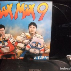 Discos de vinilo: MAX MIX 9, DOBLE LP, MAX MUSIC SPAIN 1989. Lote 139893594