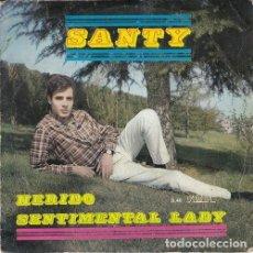 Discos de vinilo: SANTY - HERIDO - SINGLE DE VINILO. Lote 139898570