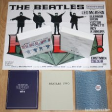 Discos de vinilo: THE BEATLES HELP! DELUXE EDITION BOX 2007 2X DVD + 2X BOOKS + MEMORABILIA OOP. Lote 139671798