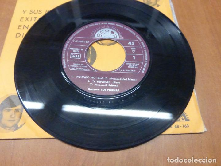 Discos de vinilo: LOS FLECHAS - DICIENDO NO, TE ESPERARÉ / SOLOS LOS DOS, PICNIC - BERTA, 1970 - - Foto 2 - 139899910