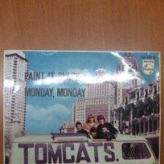 Discos de vinilo: TOMCATS - PAINT IT BLACK - MONDAY, MONDAY - EP PHILIPS 1966 - 436 849 PE -. Lote 139900910