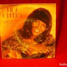 Discos de vinilo: JUDY CHEEKS -- MELLOW LOVIN / DARLING THAI`S ME, ARIOLA, 1978.. Lote 139929090
